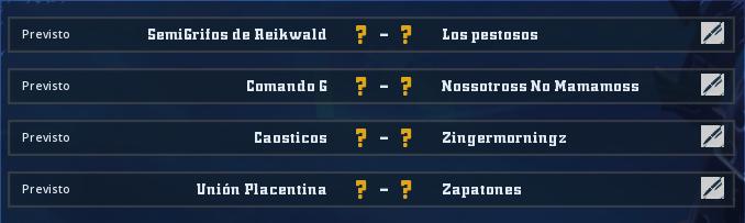 Campeonato Piel de Minotauro 10 - Grupo 2 / Jornada 6 -hasta el domingo 29 de marzo Jorna359