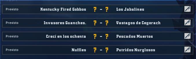 Campeonato Piel de Minotauro 10 - Grupo 3 / Jornada 6 - hasta el domingo 29 de marzo Jorna360