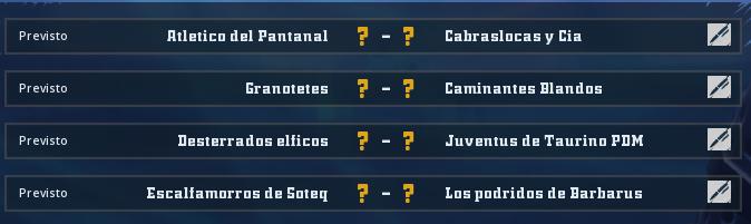 Campeonato Piel de Minotauro 10 - Grupo 4 / Jornada 6 - hasta el domingo 29 de marzo Jorna364