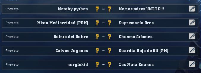 Liga Alianza Mixnotauro 5 - División Cuerno de Plata / Jornada 2 - hasta el domingo 12 de abril Jorna366