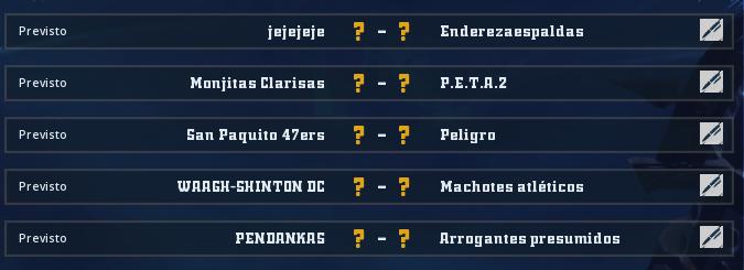Liga Alianza Mixnotauro 5 - División Cuerno de Bronce / Jornada 3 - hasta el domingo 26 de abril Jorna369