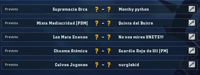 Alianza Mixnotauro 5 - División Cuerno de Plata / Jornada 3 - hasta el domingo 26 de abril Jorna373