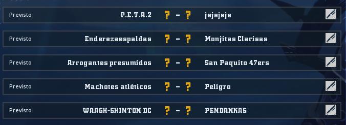Liga Alianza Mixnotauro 5 - División Cuerno de Bronce / Jornada 5 - hasta el domingo 17 de mayo Jorna375