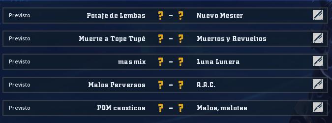 Liga Alianza Mixnotauro 5 - División Cuerno de Oro / Jornada 4 - hasta el domingo 10 de mayo Jorna376