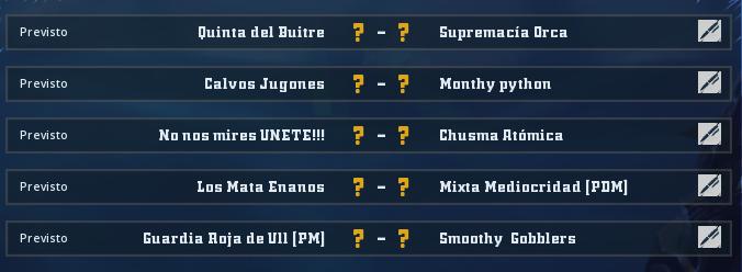 Liga Alianza Mixnotauro 5 - División Cuerno de Plata / Jornada 4 - hasta el domingo 10 de mayo Jorna380