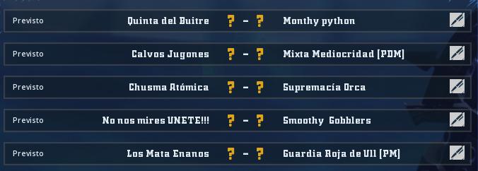 Liga Alianza Mixnotauro 5 - División Cuerno de Plata / Jornada 5 - hasta el domingo 17 de mayo Jorna397