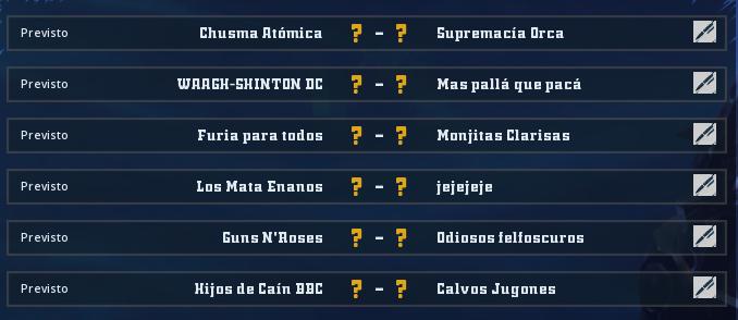 Liga Alianza Mixnotauro 6 - División Cuerno de Plata / Jornada 1 - hasta el domingo 21 de junio Jorna423