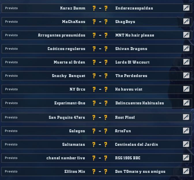 Liga Alianza Mixnotauro 6 - División Cuerno de Bronce / Jornada 1 - hasta el domingo 21 de junio Jorna441