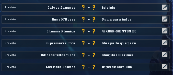Liga Alianza Mixnotauro 6 - División Cuerno de Plata / Jornada 2 - hasta el domingo 5 de julio  Jorna444