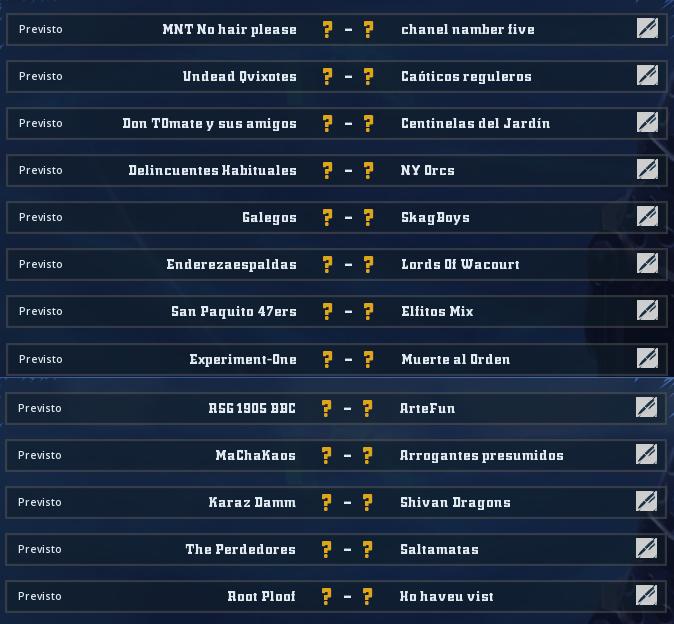 Liga Alianza Mixnotauro 6 - División Cuerno de Bronce / Jornada 2 - hasta el domingo 5 de julio Jorna452
