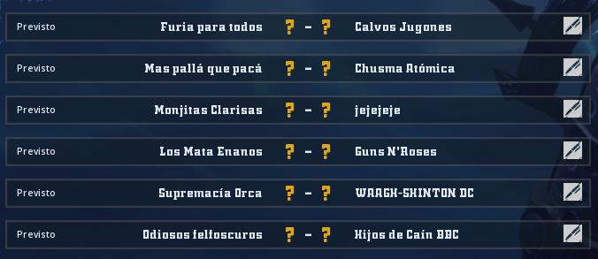 Liga Alianza Mixnotauro 6 - División Cuerno de Plata / Jornada 3 - hasta el domingo 13 de septiembre Jorna454