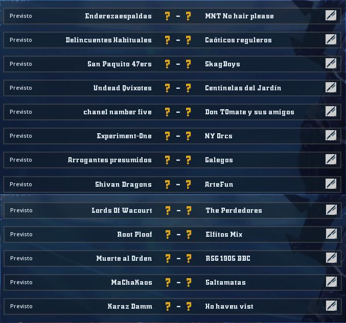 Liga Alianza Mixnotauro 6 - División Cuerno de Bronce - hasta el domingo 13 de septiembre  Jorna456