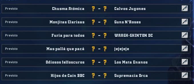 Liga Alianza Mixnotauro 6 - División Cuerno de Plata / Jornada 4 - hasta el domingo 27 de septiembre Jorna466