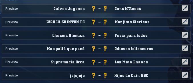 Liga Alianza Mixnotauro 6 - División Cuerno de Plata / Jornada 5 - hasta el domingo 11 de octubre Jorna479