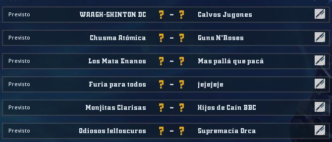 Liga Alianza Mixnotauro 6 - División Cuerno de Plata / Jornada 6 - hasta el domingo 25 de octubre Jorna483