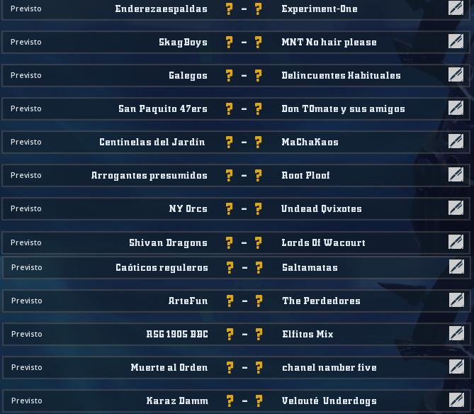 Liga Alianza Mixnotauro 6 - División Cuerno de Bronce / Jornada 6 - hasta el domingo 25 de octubre Jorna484