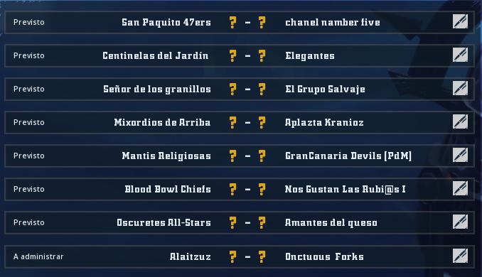 Liga Alianza Mixnotauro 7 - División Cuerno de Bronce / Jornada 1 - hasta el domingo 29 de noviembre Jorna487