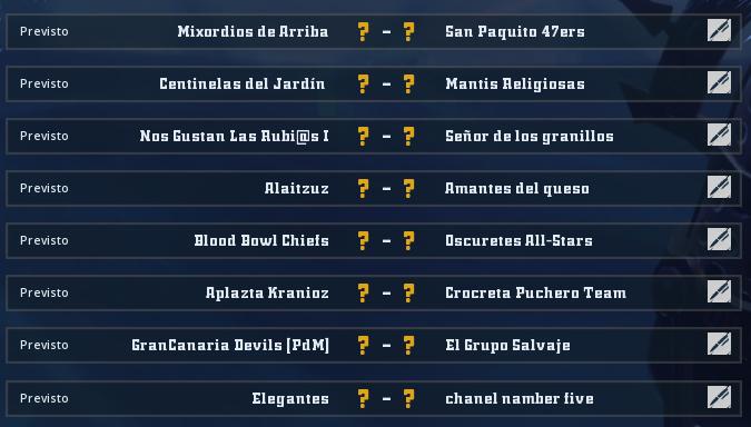 Liga Alianza Mixnotauro 7 - División Cuerno de Bronce / Jornada 2 - hasta el domingo 13 de diciembre Jorna489