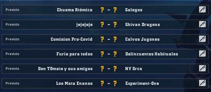 Liga Alianza Mixnotauro 7 - División Cuerno de Plata / Jornada 3 - hasta el domingo 27 de diciembre Jorna491