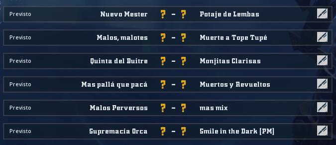 Liga Alianza Mixnotauro 7 - División Cuerno de oro / Jornada 3 - hasta el domingo 27 de diciembre Jorna492