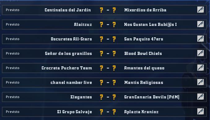 Liga Alianza Mixnotauro 7 - División Cuerno de Bronce / Jornada 4 - hasta el domingo 17 de enero Jorna493