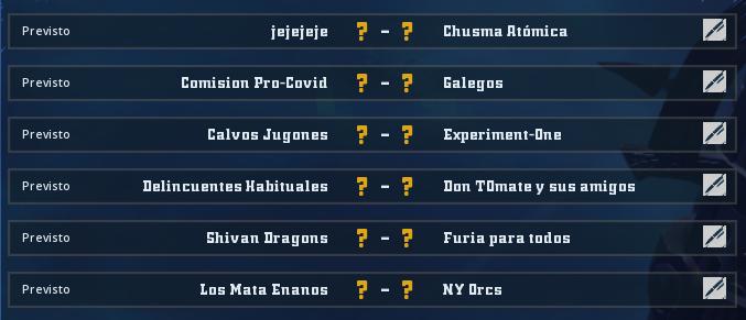 Liga Alianza Mixnotauro 7 - División Cuerno de Plata / Jornada 4 - hasta el domingo 17 de enero  Jorna494