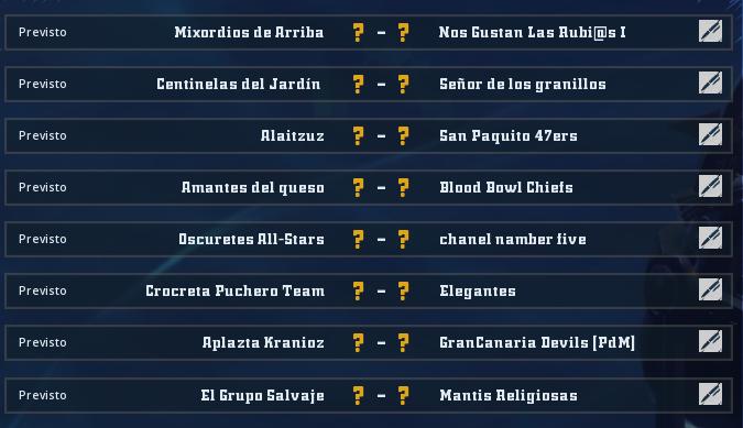 Liga Alianza Mixnotauro 7 - División Cuerno de Bronce / Jornada 5 - hasta el domingo 31 de enero Jorna496