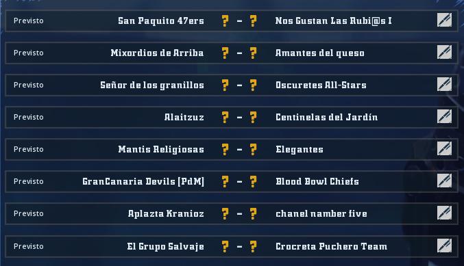 Liga Alianza Mixnotauro 7 - División Cuerno de Bronce / Jornada 6 - hasta el domingo 14 de febrero Jorna497