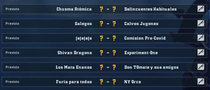 Liga Alianza Mixnotauro 7 - División Cuerno de Plata / Jornada 5 - hasta el domingo 31 de enero Jorna498