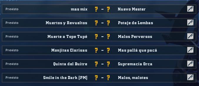 Liga Alianza Mixnotauro 7 - División Cuerno de Oro / Jornada 6 - hasta el 14 de febrero Jorna500