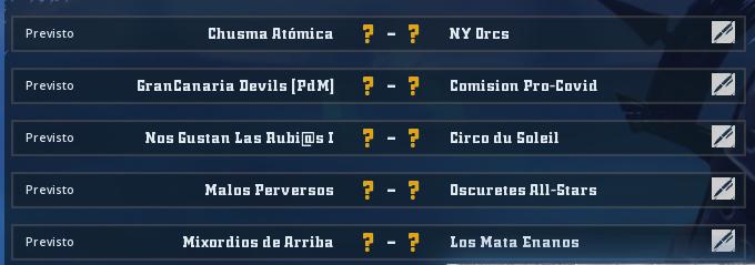 Liga Alianza Mixnotauro 8 - División Cuerno de Plata / Jornada 1- hasta el domingo 11 de abril Jorna504