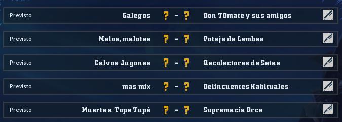 Liga Alianza Mixnotauro 8 - División Cuerno de Oro / Jornada 2 - hasta el domingo 25 de abril Jorna505