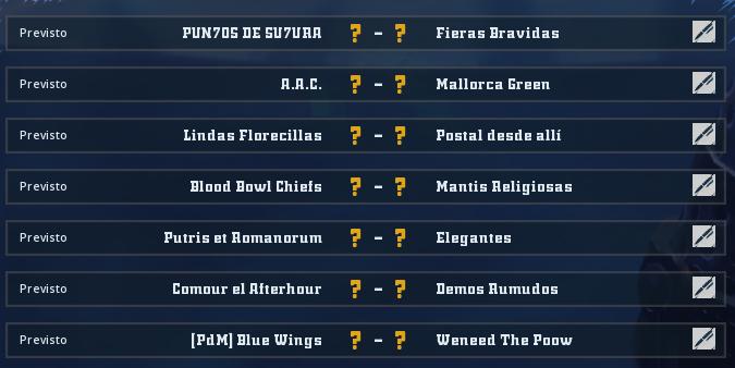 Liga Alianza Mixnotauro 8 - División Cuerno de Bronce / Jornada 1 - hasta el domingo 11 de abril Jorna506