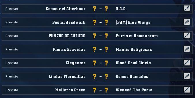 Liga Alianza Mixnotauro 8 - División Cuerno de Bronce / Jornada 2 - hasta el domingo 25 de abril Jorna507