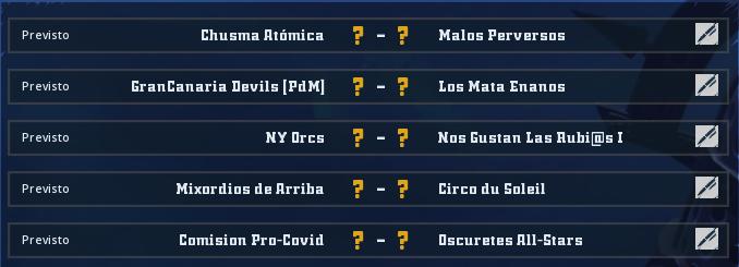 Liga Alianza Mixnotauro 8 - División Cuerno de Plata / Jornada 2 - hasta el domingo 25 de abril Jorna508
