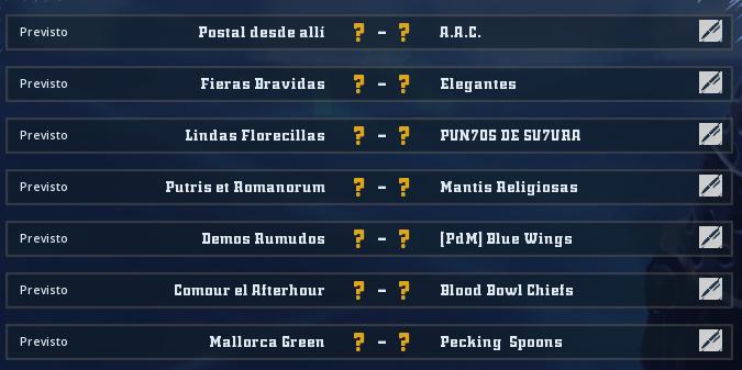 Liga Alianza Mixnotauro 8 - División Cuerno de Bronce / Jornada 4 - hasta el domingo 23 de mayo Jorna513