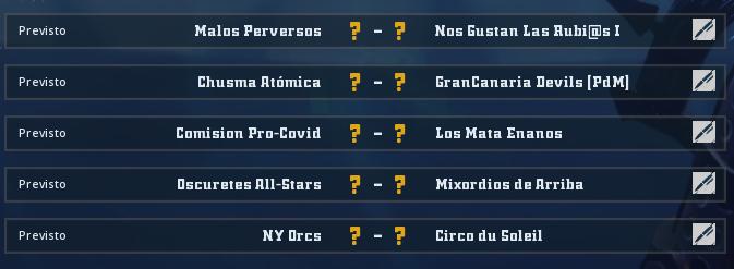 Liga Alianza Mixnotauro 8 - División Cuerno de Plata / Jornada 4 - hasta el domingo 23 de mayo Jorna514