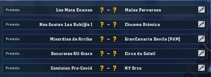 Liga Alianza Mixnotauro 8 - División Cuerno de Plata / Jornada 5 - hasta el domingo 6 de junio Jorna516