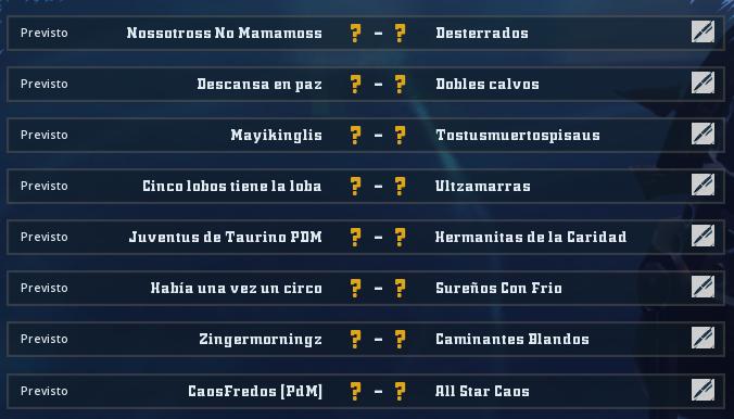 Copa Valkyrie Verano 2019 - Octavos de final - hasta el domingo 30 de junio Octavo13