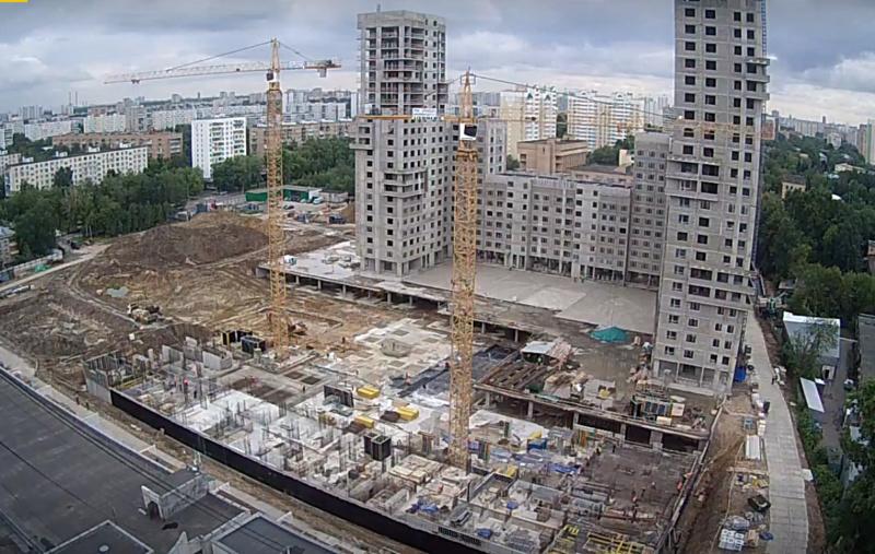 """Веб-камеры на площадке строительства ЖК """"Нормандия"""" - Страница 5 100710"""