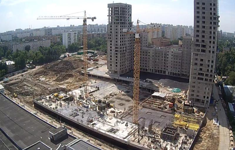 """Веб-камеры на площадке строительства ЖК """"Нормандия"""" - Страница 5 11111"""