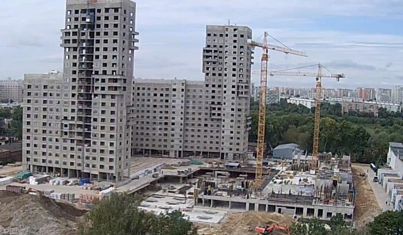 """Веб-камеры на площадке строительства ЖК """"Нормандия"""" - Страница 6 1211"""