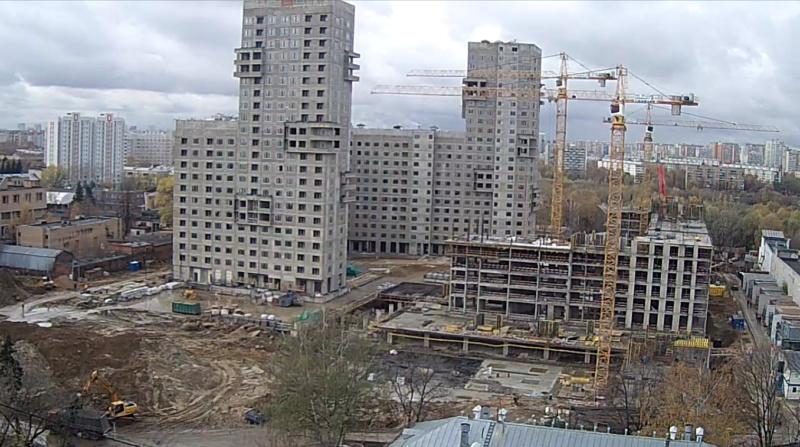 """Веб-камеры на площадке строительства ЖК """"Нормандия"""" - Страница 8 25210"""