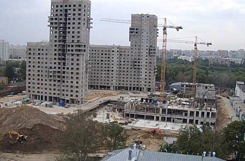 """Веб-камеры на площадке строительства ЖК """"Нормандия"""" - Страница 6 33333310"""