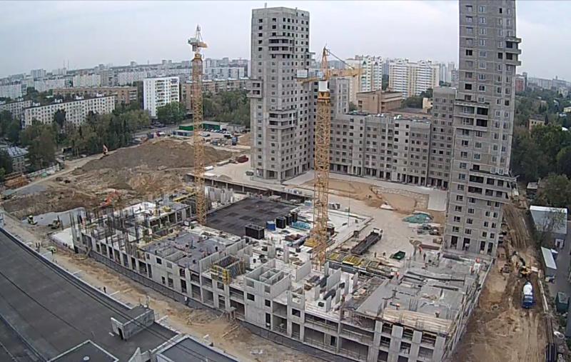 """Веб-камеры на площадке строительства ЖК """"Нормандия"""" - Страница 6 33335510"""