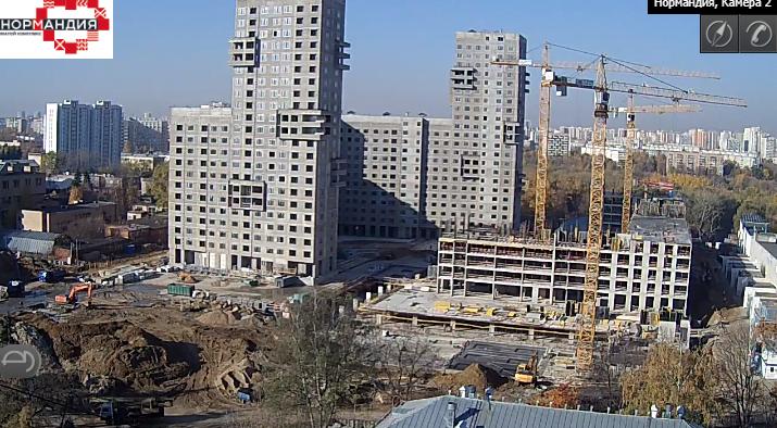 """Веб-камеры на площадке строительства ЖК """"Нормандия"""" - Страница 7 55555511"""