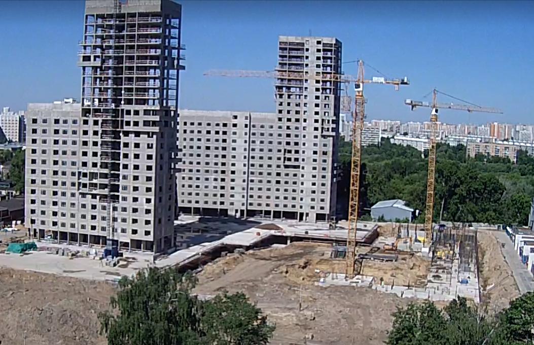 """Веб-камеры на площадке строительства ЖК """"Нормандия"""" - Страница 4 9210"""