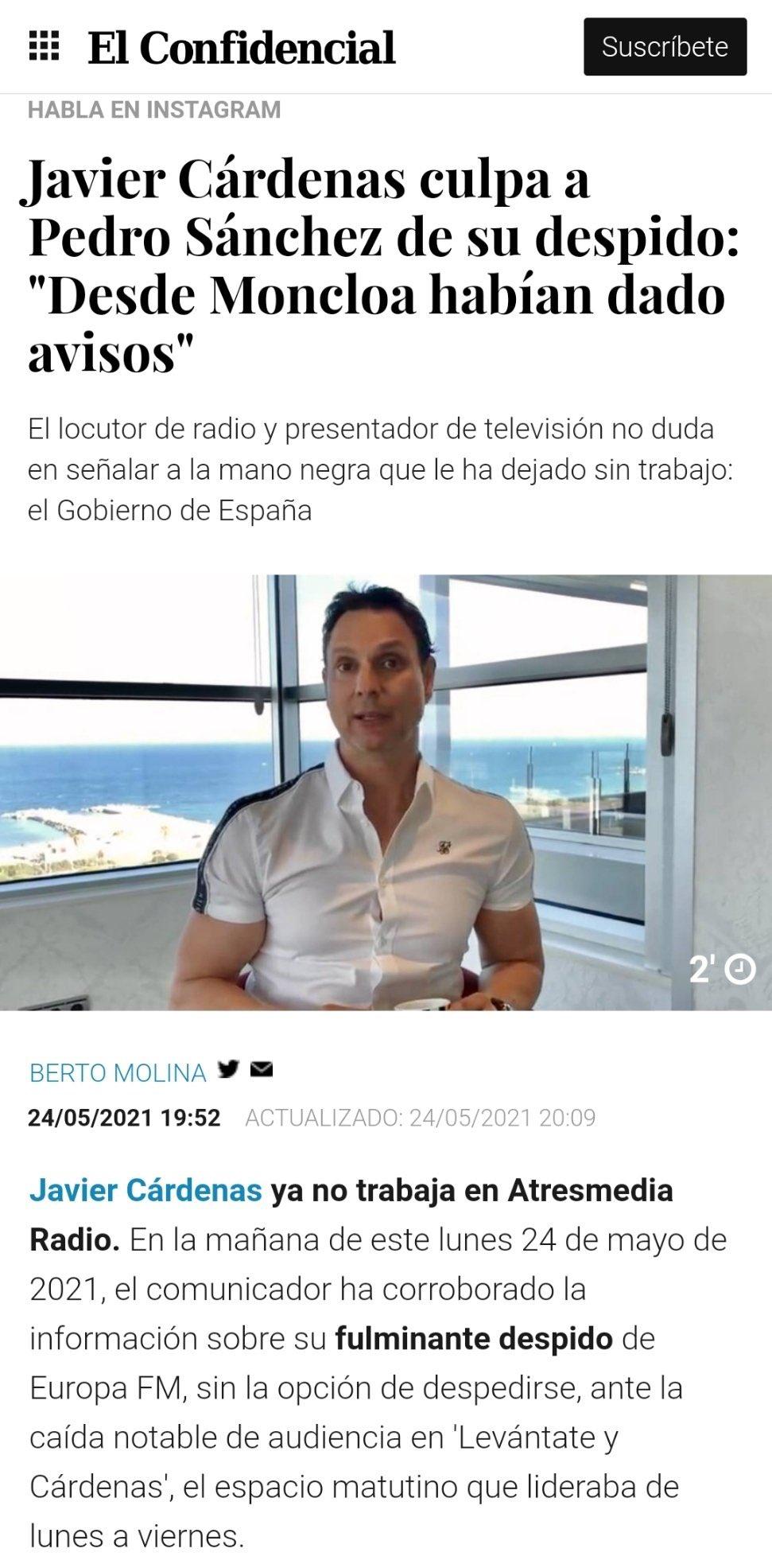 Fundación ideas y grupo PRISA, Pedro Sánchez Susana Díaz & Co, el topic del PSOE - Página 17 20210517
