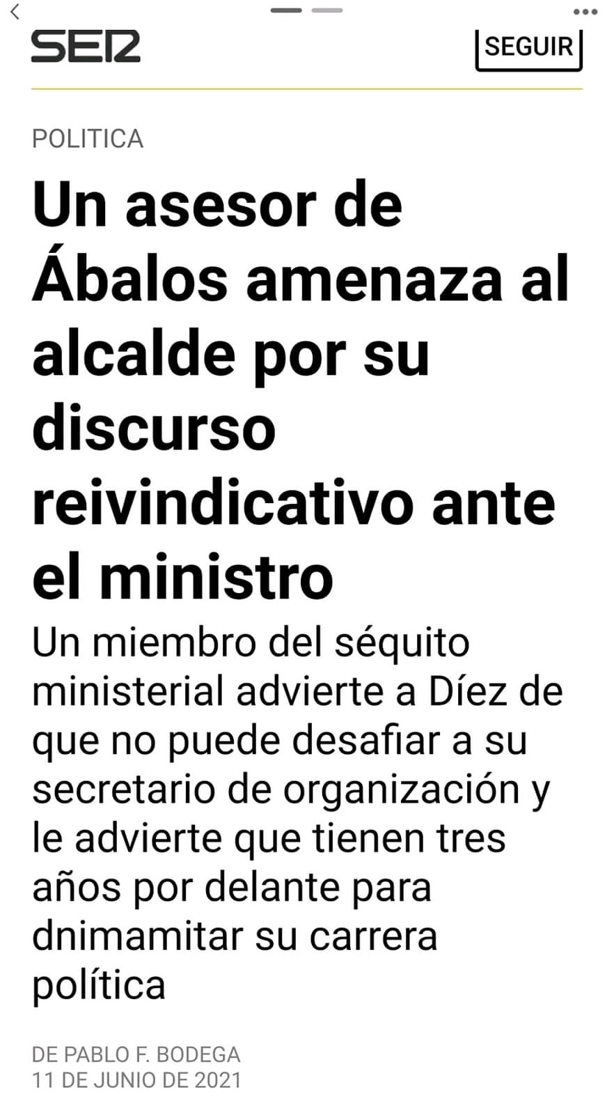 Fundación ideas y grupo PRISA, Pedro Sánchez Susana Díaz & Co, el topic del PSOE - Página 19 20210615