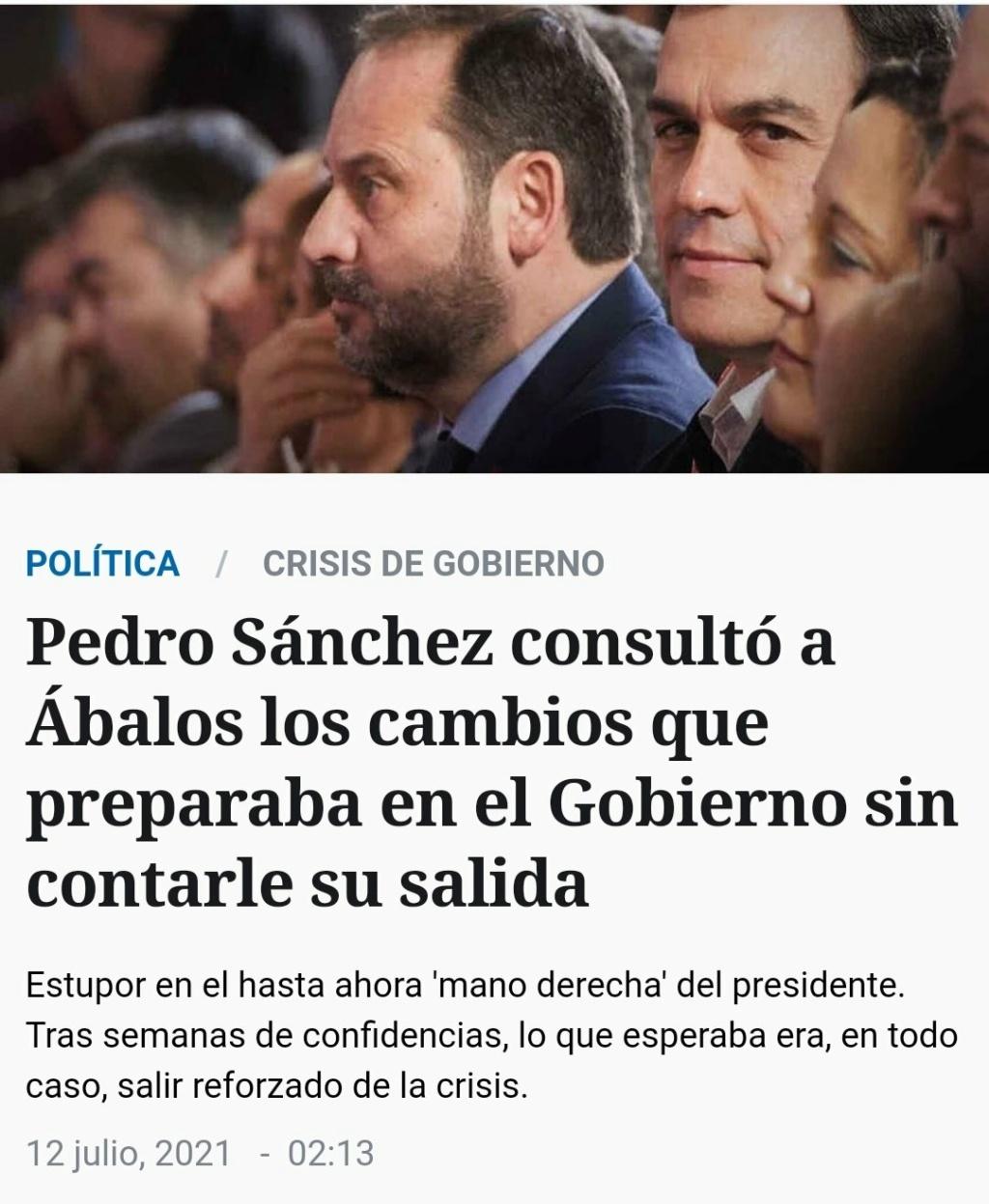 Fundación ideas y grupo PRISA, Pedro Sánchez Susana Díaz & Co, el topic del PSOE - Página 19 20210714